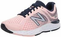 New Balance Womens W680 Low Top Lace Up Running Sneaker, Pink, Size 8.5 hrlm