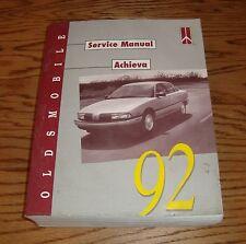 Original 1992 Oldsmobile Achieva Shop Service Manual 92