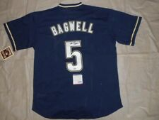 Signed Throwback Astros Authentic Autographed Jersey by Jeff Bagwell