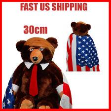 Donald Trump Bear Plush Stuffed Toys USA Campaign Teddy Limited Edition Trumpy