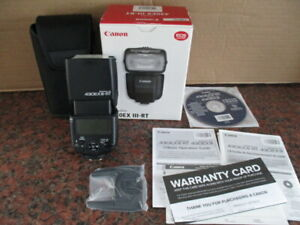 Canon Speedlite 430EX III-RT Flash (PLEASE READ DESCRIPTION)