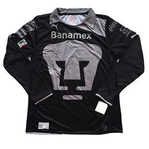 2012/13 Unam Pumas GK Jersey XL Club Universidad Nacional Long Sleeve LigaMX NEW