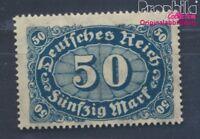 Deutsches Reich 246b geprüft postfrisch 1922 Ziffer (8470763
