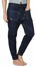 Diesel EDUN Ed Partee Joggings Cotton Jeans Drawstring Dark Indigo 24