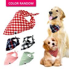 5pcs/lot Cotton Bandana Dog Collars Pet Puppy Cat Neck Scarf Neckerchief Yorkie