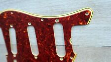 1962 Fender Stratocaster Celluloid Tortoise Pickguard Nitrate Strat 60 61'62 USA
