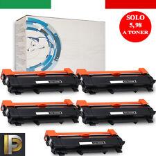 5 Toner TN2420 con chip per Brother MFC-L2710 L2510D L2550DN HL L2310D L2370DN