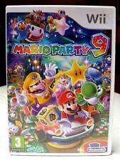 Wii ➤ Nintendo jeu spel game Mario Party 9 PAL