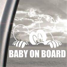 MICKEY MOUSE BABY ON BOARD Peeking PARAURTI, auto, finestre, iPad o notebook adesivo