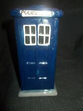 Dark blue ceramic Police Box money box by Puckator - Doctor Who? perhaps