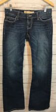 BKE Stella Jeans Bootcut Bling Pockets Tag 27x31.5 Actual 28x30.5
