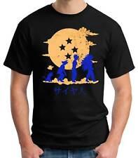 Camiseta Hombre Evolution Son Goku Dragon ball t-shirt manga corta