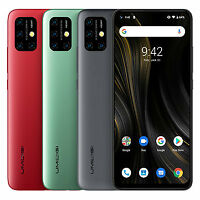 UMIDIGI Power 3 Global Bandas da 6,53 pollici FHD + Fullview Displ Android10 RED