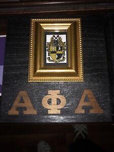 Alpha Phi Alpha Fraternity Cigar Box/Desktop Storage