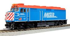 échelle H0 - Kato Locomotive diesel EMD F40PH Chicago Metra 37-6571 NEU
