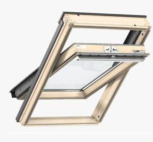 VELUX GZL Schwingfenster, Dachfenster aus Holz inkl. Eindeckrahmen !