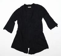Jigsaw Womens Size S Wool Blend Black Cardigan (Regular)