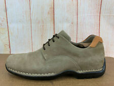 Cole Haan Sneaker Mens 9.5 M Tan Suede Leather Bicycle Toe Fashion Oxfords X46(6