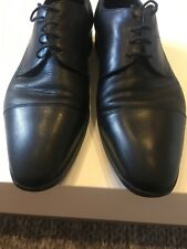 Loake Mens Shoes Size 9 Uk Black Lace