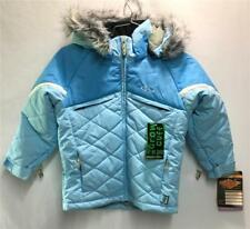 Marker Kids Swing Snow Ski Winter Jacket Color Ice Blue Size Girls 5 NEW