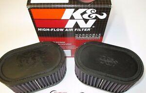 Fits Suzuki GSF1200 bandit    K & N Dual Air Filters. RU-2922