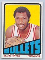1972 -73  ELVIN HAYES - Topps Basketball Card # 150 - BALTIMORE BULLETS