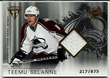 04 Pacific Titanium Teemu Selanne Jersey Colorado Avalanche Winnipeg Jets SP NHL