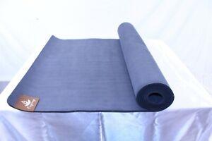 "Rubber Base Yoga Mat Black 24"" x 72"""