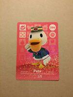 Animal Crossing Amiibo Karte Pete/Peter #206