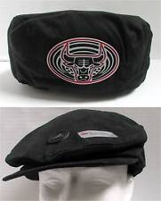 Adidas Chicago Bulls Black Flat Cap Hat Official Licensed NBA One Sz NWT