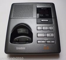 Uniden Dect 1080-2 Dect 6.0 Digital Answering System Only- Sold As Is