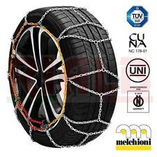 Catene da neve per auto veicoli 9 mm Melchioni Gruppo 7 per gomme 205/40-17