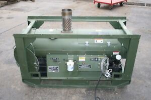 Hunter 120,000 BTU Portable Heater 1100CFM MTH 150 Multi-Fuel Diesel Shop - Tent
