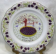 Gien China Of France Prunes Salad Dessert Plate B MINT  sc 1 st  eBay & Dessert Plate White Gien China u0026 Dinnerware | eBay