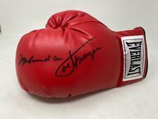 Muhammad Ali Joe Frazier Signed Everlast Boxing Glove Boxing Autograph