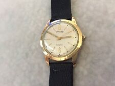 Vintage Rodania 1950's Automatic Mechanical Swiss Watch_G20 Gold Plaque_Working