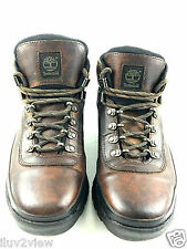 Timberland  ACT 96325 Women's Euro Hiker Leather Ankle Boot Size 8.5 US.