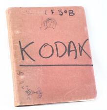 Kodak Ag Parts List For German Instamatics (126 And 110)/cks/199309