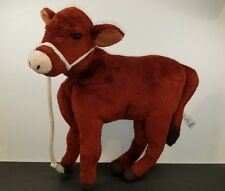 American Girl Doll Plush Cow Carolines Calf Farm Stuffed Animal 11""