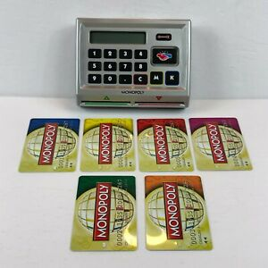 Monopoly Here And Now Electronic Banking Machine 6 Bank Cards Replacement