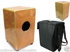 CAJON Maple Veneer Rhythm Box w/ Internal Snare Wires *Inc. Padded Bag* NEW!