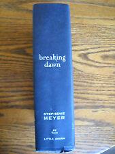 Breaking Dawn by Stephenie Meyer (2008, Hardcover) 1st Edition 1st Print (No DJ)