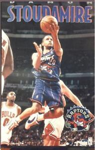 1996 Damon Stoudamire Toronto Raptors Original Starline Poster OOP