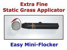 EASY MINI Static Flock Grass Applicator SCENIC MODELLING O HO N Scale Layout