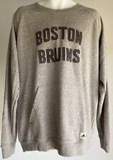Adidas Boston Bruins NHL Team Sweater Gray Size XL
