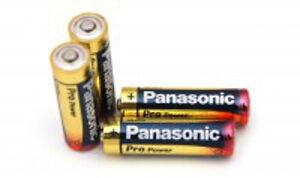Panasonic Pro Power Long Life Batteries (4)