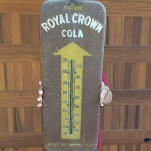 Vintage original Royal Crown, RC Cola thermometer