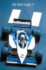 FRANCOIS Hesnault Brabham BT54 Grand Prix de Monaco 1985 photographie