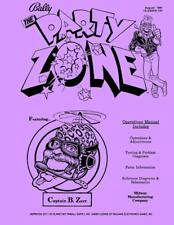 Party Zone Pinball Operations/Service/Repair Manual/Arcade Game Machine BallyPPS