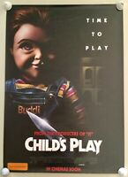 Child's Play & Annabelle Comes Home Original Double Sided Theatre Large Posters